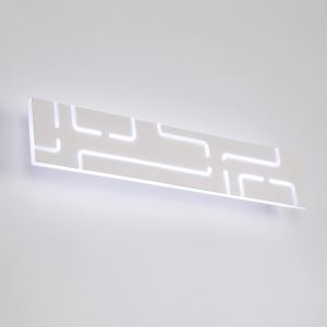 Rectangle LED Wall Sconce Modern Simple Bedroom Study Hallway Mirror Front Lighting