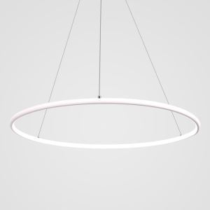 Contemporary Simple Ring Pendant Light Decorative Circle Pendant Light Living Room Bedroom Study Lighting
