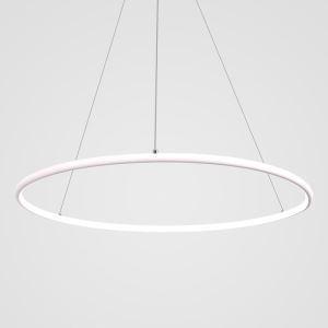 Contemporary Simple Ring Pendant Light Decorative Circle Pendant Light Living Room Bedroom Study Lighting
