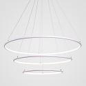 Modern 3 Rings Pendant Light Nordic Circle Pendant Light Living Room Bedroom Study Lighting