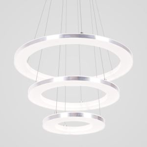 Nordic Acrylic Ring Pendant Light Modern Round LED Pendant Light Living Room Bedroom Dining Room Lighting
