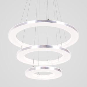 Nordic Acrylic Ring Pendant Light Modern Round LED Pendant Light Living Room Bedroom Dining Room Lighting
