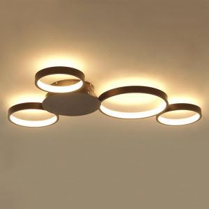 Modern Simple LED Flush Mount Mickey Mouse Ceiling Light Home Lighting Living Room Bedroom LBY18052