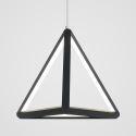 Postmodern LED Pendant Light Geometric Triangle Light Creative Lamp Restaurant Bedroom Lighting LBY18068