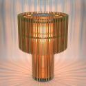 Classic Parametric Table Lamp Stylish Slice Design Desk Lamp Living Room Bedroom 3D effect Decorative DIY Lighting