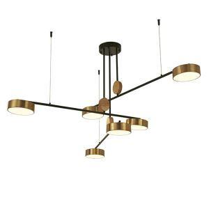 Modern LED Pendant Light Nordic Simple Chandelier Living Room Bedroom Lighting QM1809