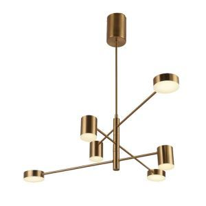 Modern LED Pendant Light Nordic Chandelier Creative Home Lighting Bedroom Living Room Lamp QM18116