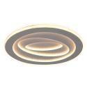 Modern LED Flush Mount Circular Ceiling Light Side Illuminating Study Living Room Bedroom Light 8181