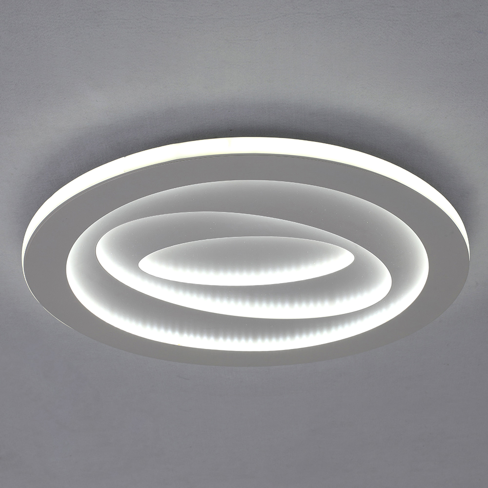 Modern Led Flush Mount Circular Ceiling Light Side Illuminating Study Living Room Bedroom Light 8181