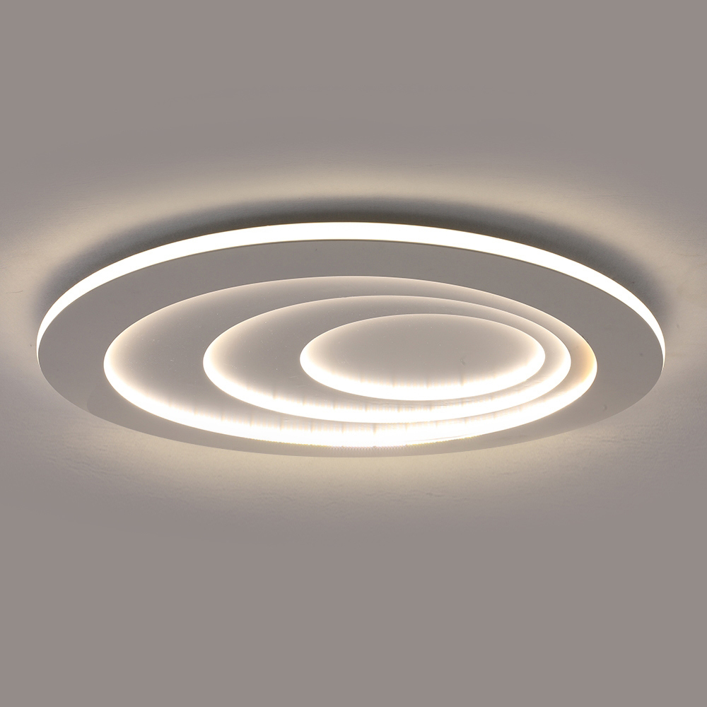 Modern Led Flush Mount Water Drop Terrace Ceiling Light Side Illuminating Bedroom Living Room Light