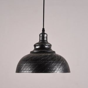 12 inch Pendant Light Wide Rust Iron Single Light Barn Small Pendant Lighting