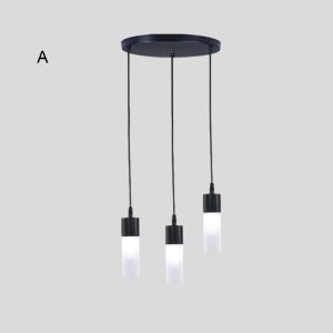 Nordic LED Pendant Light Creative Lamp With 3 Lights Dining Room Bedroom Bar Lamp QM8505C3