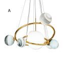 Post Modern LED Pendant Light Creative Lamp Home Lighting Restaurant Living Room Bedroom Lamp MDD171