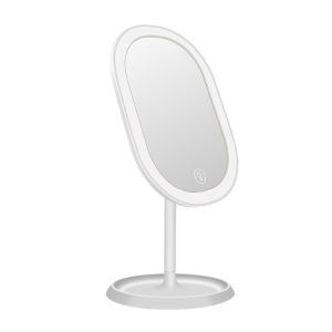 Modern Bathroom Accessories Intelligent Fashion LED Makeup Mirror Touch Dimming Mirror