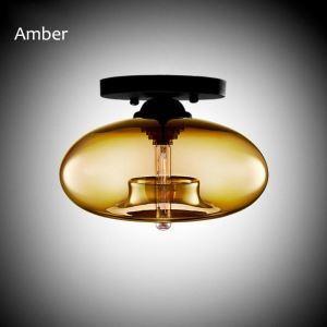 Modern Flush Mount Creative Glass Ceiling Light Artistic Lamp Hallway Dining Room Restaurant Light