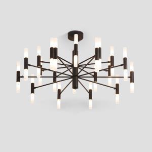 Modern LED Chandelier Electroplating Living Room Bedroom Dining Room Office Lighting