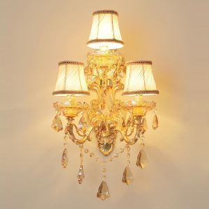 Luxurious Wall Lamp Elegant Wall Sconce Decoration Lamp Bedside Hallway Lighting HQ3005