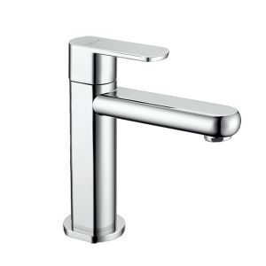Bathroom Sink Faucet Chrome Basin Tap Single Handle Bathroom Tap Deck Mount