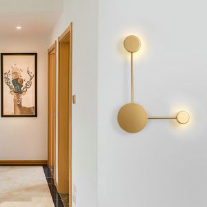 Modern Simple LED Wall Light Simple Wall Lamp 2 Colors Sconce Bedside Hallway Lighting QM1818