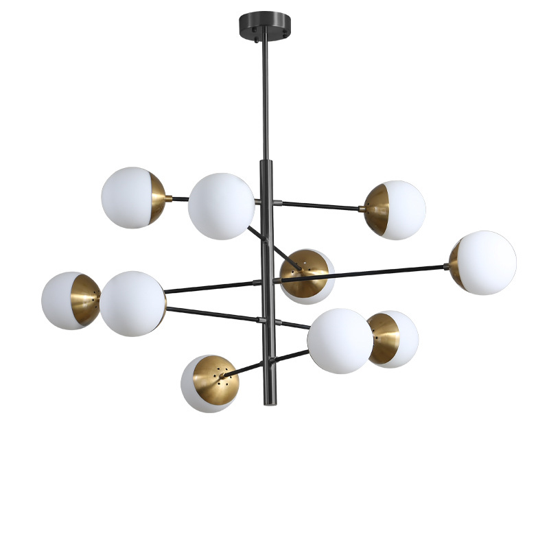 Contemporary Pendant Light Magic Bean Shape Chandelier