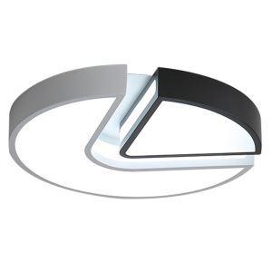 Contemporary LED Flush Mount Circualr Ceiling Light Creative Lamp Living Room Bedroom Light 8135