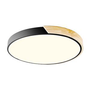 Modern LED Flush Mount Log Acrylic Ceiling Light Ultra Thin Lamp Bedroom Living Room Study Room Lamp