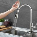 Modern Touch Sensor Kitchen Faucet Stainless Steel Kitchen Tap With Touch Switch