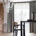 Modern Plain Color Linen Blackout Curtains Premium Custom Curtains Living Room Dining Room Curtains (One Panel)