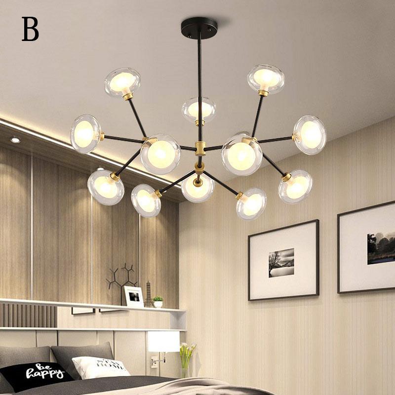 Modern Pendant Light Creative Branch Chandelier Home Lighting Bedroom Living Room Lamp Qm1824