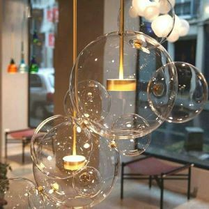 Contemproary Simple Pendant Light Special Bubble Pendant Light Bedroom Living Room Light