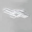 Modern Simple LED Ceiling Light Fashional Square Ceiling Light Bedroom Study Light