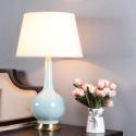 Modern Table Lamp Cozy Warmth Desk Lighting Creative Ceramic Base Lamp Living Room Bedroom Light HY056