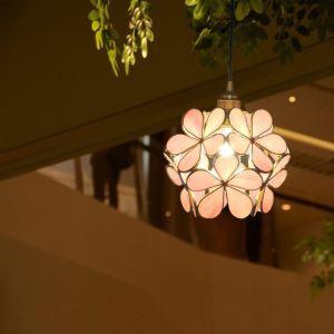 Nordic Creative Pendant Light Glass Home Lighting Petal Shape Lamp Dining Room Kids Room Hallway Lamp