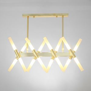 Nordic LED Pendant Light Creative Branch Chandelier Shape Adjustable Lamp Restaurant Living Room Light QM8508B