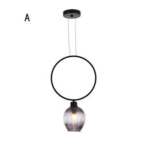 Nordic Pendant Light Creative Magic Bean Lamp With 1 Light Living Room Restaurant Dining Room Lamp QM8512B1