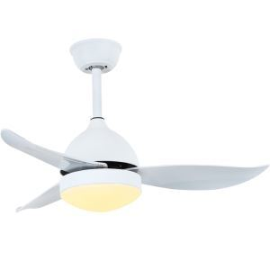 Modern LED Ceiling Fan Light Chandelier Fan Light With Remote Control Living Room Bedroom Lamp QM1106