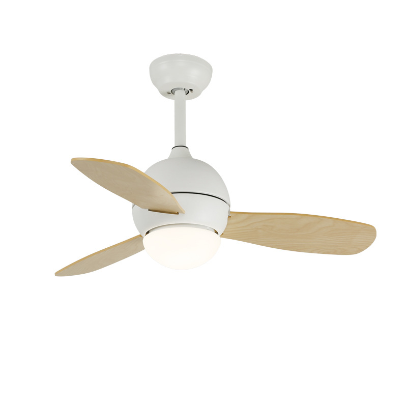 Mini Ceiling Fan With Led Light Remote Control Qm1107