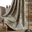 Classical Max Blackout Curtain Emboss Simulation Jacquard Curtain Bedroom Curtain (One Panel)
