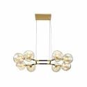 Nordic Glass Pendant Light Magic Bean Lamp Modern Chandelier Light Bedroom Living Room Lighting D263