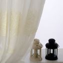 Breathable Sheer Curtain Tree Texture Embroidery Curtain Living Room Curtain (One Panel)