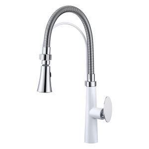 Modern Kitchen Faucet Mushroom Handle Kitchen Tap Shower/Bubble Mode Alternative