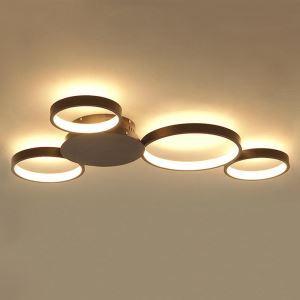Modern Simple LED Flush Mount Mickey Mouse Ceiling Light Home Lighting Living Room Bedroom LBY18052