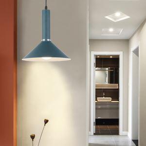 Creative Pendant Light Aluminum Geometric Lamp Home Lighting Bedroom Hallway Light QM88302
