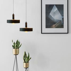Modern Pendant Light Eyes Protection Lamp Cylinder Shape Light Bedroom Bar Light QM88302