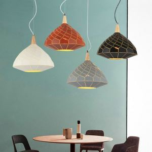 Nordic Pendant Light UFO Shape Pendant Light Adjustable Lamp Living Room Bedroom Light QMJD1021