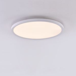 Nordic LED Flush Mount Super Thin Ceiling Light Aluminum Roung Lamp Bedroom Lighting 24W