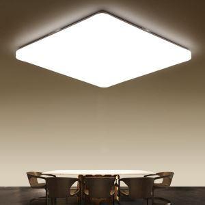 Super Thin LED Flush Mount Modern Square Ceiling Light Acrylic Lamp Living Room Light
