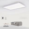 Nordic LED Flush Mount Super Thin Lamp White Ceiling Light Living Room Dining Room Light 42W