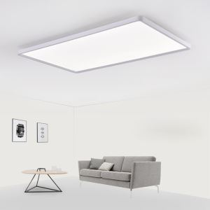 Nordic LED Flush Mount Super Thin Lamp White Ceiling Lingt Living Room Dining Room Light 42W