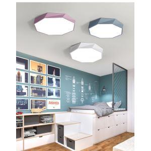 Modern LED Flush Mount Special Octagon Design Ceiling Light Ultra Thin Lamp Bedroom Living Room Light CL687